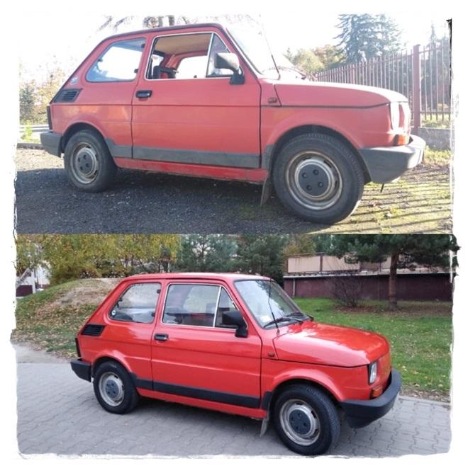 Odnowienie Fiat 126p + ceramika